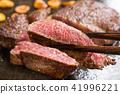 스테이크, 고기 요리, 쇠고기 41996221