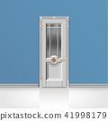 white entrance door 41998179