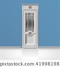 white entrance door 41998198