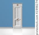white entrance door 41998274