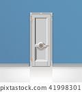 white entrance door 41998301