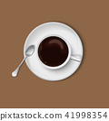 Cup of Coffee Top View 41998354