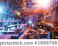 Interior of metallurgical plant workshop 41999706