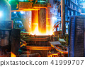Electroarc furnace at metallurgical plant 41999707