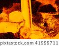 Liquid metal from blast furnace 41999711