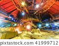 Panorama of blast furnace workshop 41999712