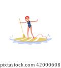vector, surfing, surfboard 42000608