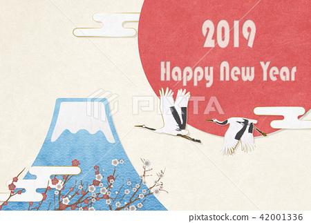 新年賀卡 賀年片 賀年卡 42001336