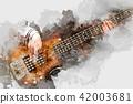 吉他 玩耍 玩 42003681
