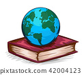 地球仪 球体 书籍 42004123