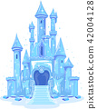 Ice Castle Illustration 42004128