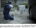 警察 攝影 照相機 42005797