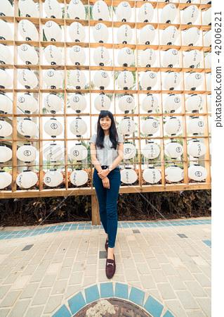 亞洲台灣台中后里麗寶購物中心福容飯店女人女子女孩肖像人像 42006221