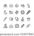 icon vector pet 42007883