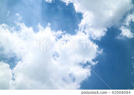 구름 백그라운드 42008084