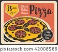 pizza, pizzeria, retro 42008569