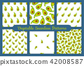pattern background avocado 42008587