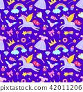 Cute seamless pattern 42011206