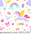 Cute seamless pattern 42011267