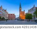 Architecture of the old town in Gdansk, Poland. 42011436