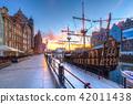 Pirate ship at Motlawa river in Gdansk, Poland. 42011438