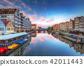 Old town of Gdansk at Motlawa river, Poland 42011443