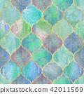 Vintage decorative moroccan seamless pattern. 42011569