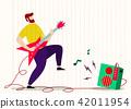 吉他 玩耍 玩 42011954