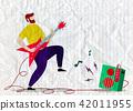 吉他 玩耍 玩 42011955