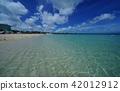 Okinawa, blue water, marine 42012912