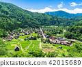 Shirakawago panoramic view 42015689