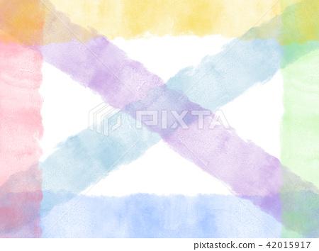 抽像水彩條格背景 42015917