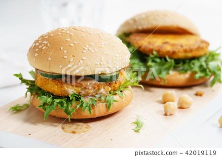 veggie burger 42019119