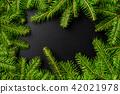 Christmas tree background 42021978