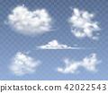 cloud, vector, realistic 42022543
