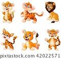 Vector illustration of  Wild animal cartoon  42022571