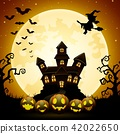 background castle halloween 42022650