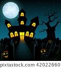 background castle graveyard 42022660