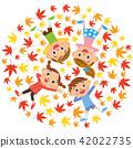 樹葉 楓樹 紅楓 42022735