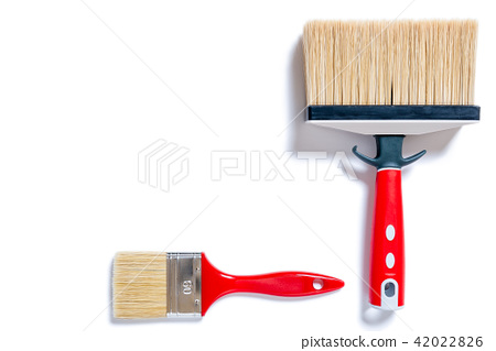 House painter, work tools on a white background 42022826