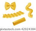 pasta macaroni realistic 42024384