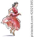 舞 舞蹈 跳舞 42025365