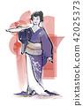 日本傳統舞蹈 日本舞 舞 42025373