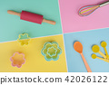 baking utensils tools and cooking concept 42026122