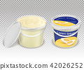 plastic transparent bucket 42026252