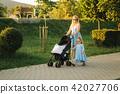 mother, family, beach 42027706