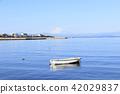 바다, 후지산, 풍경 42029837