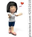 介绍自己的可爱角色 42032010
