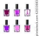 nail, polish, bottles 42033683