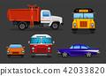 vector car truck 42033820